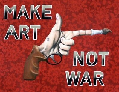 Jared Aubel, 'Make Art Not War', 2012-2019