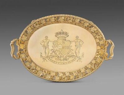 Paul Storr, 'A Highly Important Regency Two-Handled Tray', 1814