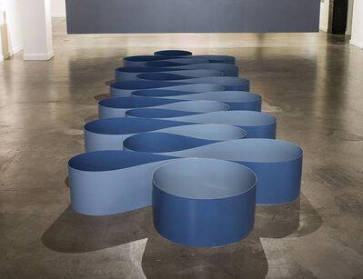 Paul Vexler, 'Horizontal Aluminum Ribbon #1', 2020