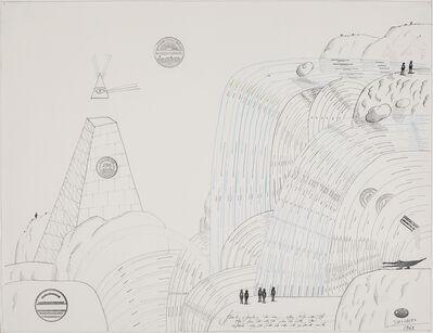 Saul Steinberg, 'Niagara Crocodile', 1968