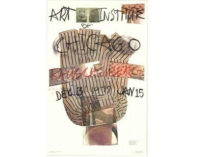 Robert Rauschenberg, 'Art Institute of Chicago', 1976