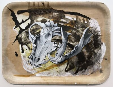 Sampsa Indrén, 'Head On A Plate II', 2018