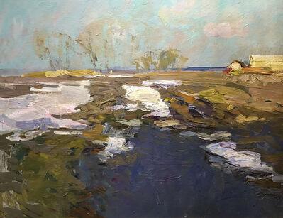 Fedor Zakharov, 'Snow is Melting', 1980