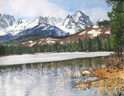 Sheila Gardner, 'Receding Winter - Red Fish Lake'