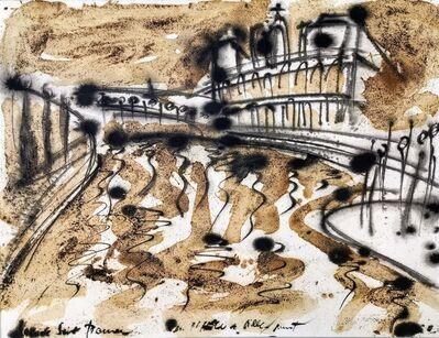 Norma de Saint Picman, 'Souvenirs de Paris - L'enfance, Île Saint Louis -La Seine, vers Hôtel de Ville', 2003