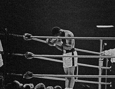 Thomas Hoepker, 'Ali praying in the ring, London', 1966