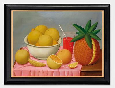 Fernando Botero, 'Nature Morte à l'Ananas', 1988