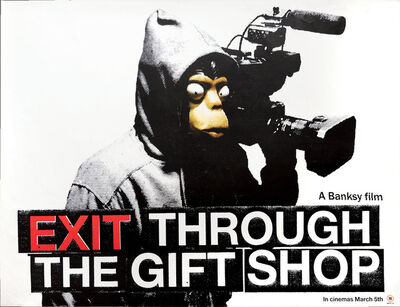 """Banksy, '""""EXIT THROUGH THE GIFT SHOP"""" POSTER', 2010"""