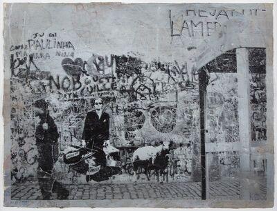 Blek le Rat, 'Cop Walking', 2008
