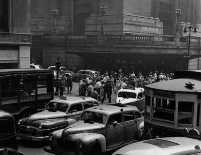 Todd Webb, '42nd Street at Vanderbilt, New York', 1946