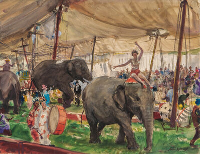 John Whorf, 'Country Circus'