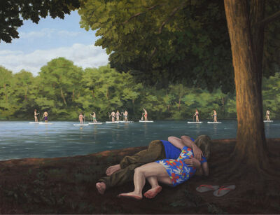 Serban Savu, 'Satyr and Nymph at Schlachtensee', 2016