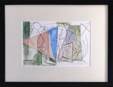 Pablo Picasso, 'Joueur de Flûte Et Gazelle', 1982