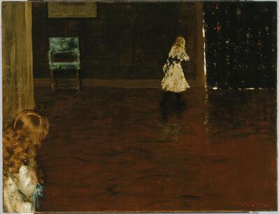 William Merritt Chase, 'Hide and Seek', 1888