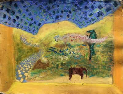 Mary Flinn, 'Yellow Blue Landscape', 2021