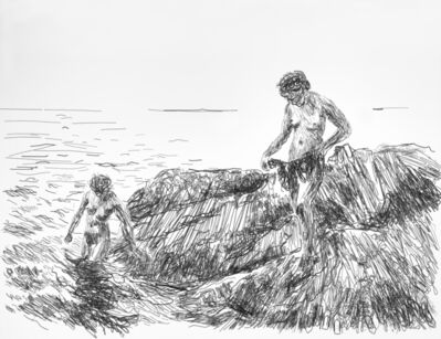 Vik Muniz, 'Pictures of Wire: Seaward Skerries, after Anders Zorn', 2013