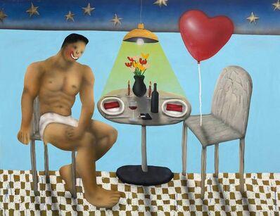 Evgen Copi Gorisek, 'Romantic Dinner For Two', 2020