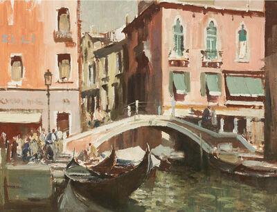 Edward Seago, 'A Canal in Venice'