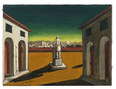Giorgio de Chirico, 'Piazza d'Italia', Late 50s