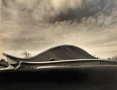 Pedro E. Guerrero, 'Yale Skating Rink, Exterior, New Haven, CT (Eero Saarinen, Architect)', 1958