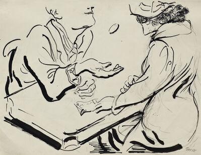 George Grosz, 'The Cheat', 1937