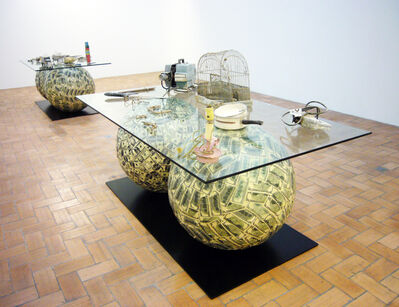 Meschac Gaba, 'Archéologie contemporaine 2', 2003