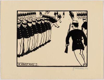 Félix Vallotton, 'A vingt ans......', 1894