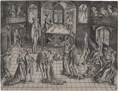 Master MZ, 'The Ball', 1500