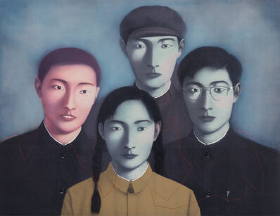 Zhang Xiaogang, 'Big Family No. 1, from Bloodline Series', 2006