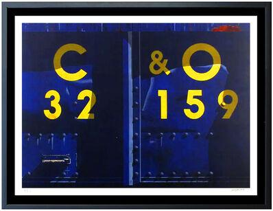 Robert Cottingham, 'Robert Cottingham Large Original Color Lithograph C&O Railroad Industrial Signed', 1989