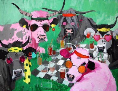 Kinga Piwowarczyk, 'Breakfast on the grass', 2017