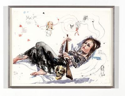 Brad Kahlhamer, 'Maline, Born in Lund', 2005