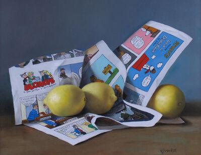 Kelly Birkenruth, 'Citrusy Smiles', 2020