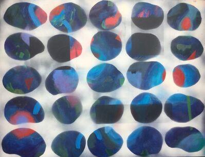 Peter Rossiter, 'Blue Variants', 2018