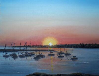 Juan J. Franchi, 'Atardecer Puerto de Punta del Este', 2020