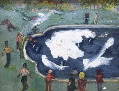 Alvin Ross, 'Skating', Mid-20th century