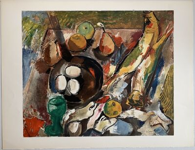 Charles Dufresne, 'Nature Morte Fruits et Légumes', 1920 / Printed 1971