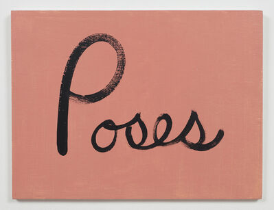 Ree Morton, 'Poses (Signs of Love)', 1976