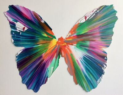 Damien Hirst, 'Butterfly (original spin painting)', 2009