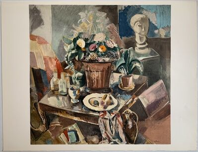 Charles Dufresne, 'Nature Morte au Pot de Fleurs', 1928 / Printed 1971