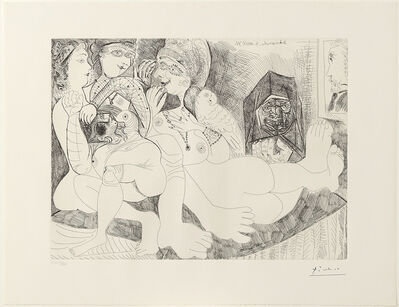Pablo Picasso, 'Suite 156 / 156 Series', 1970-1972