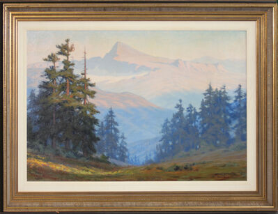 Charles Hudson, 'Sunrise Over the Sierra Mountains', 1910-1919