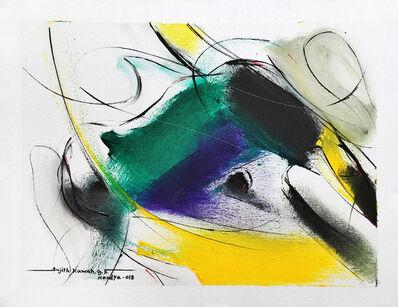 Sujth Kumar G.S. Mandya, 'Bull Painting - 682', 2018