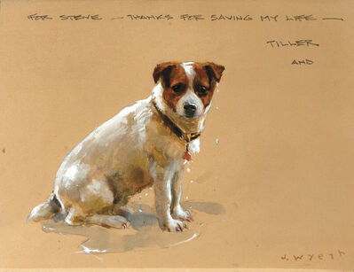 Jamie Wyeth, 'Thanks for Saving My Life', 2008
