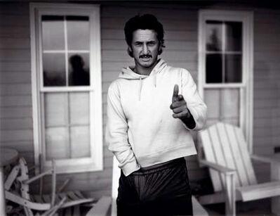 Bryan Guy Adams, 'Sean Penn, Hands up Nova Scotia', 1999