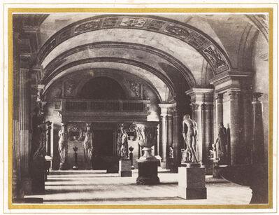 Charles Marville, 'Salle des Cariatides, au Musée du Louvre', ca. 1851