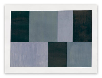 Tom McGlynn, 'Test Pattern 12 (Grey study) (Abstract painting)', 2005