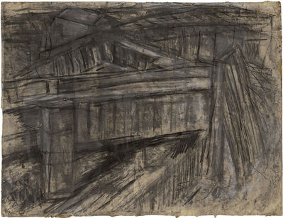 Leon Kossoff, 'Railway Bridge Mornington Crescent ', 1952