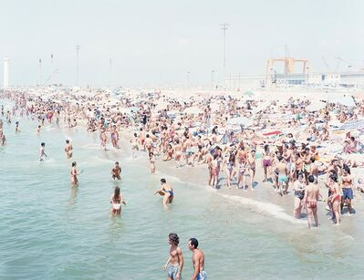 "Massimo Vitali, 'Viareggio Sun, from the series ""Landscape with figures""', 1995"