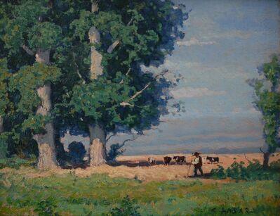 Charles Lasar, 'French Countryside', ca. 1900